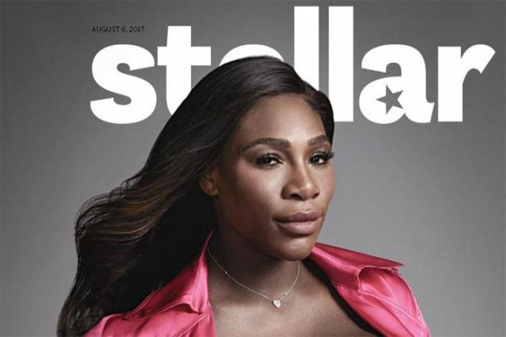 Serena Williams for Stellar magazine