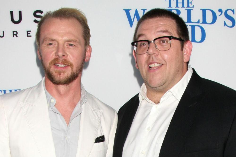 Nick Frost knew about Simon Pegg's alcoholism