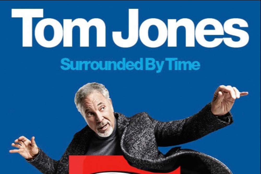 Sir Tom Jones' Surrounded By Time concert poster