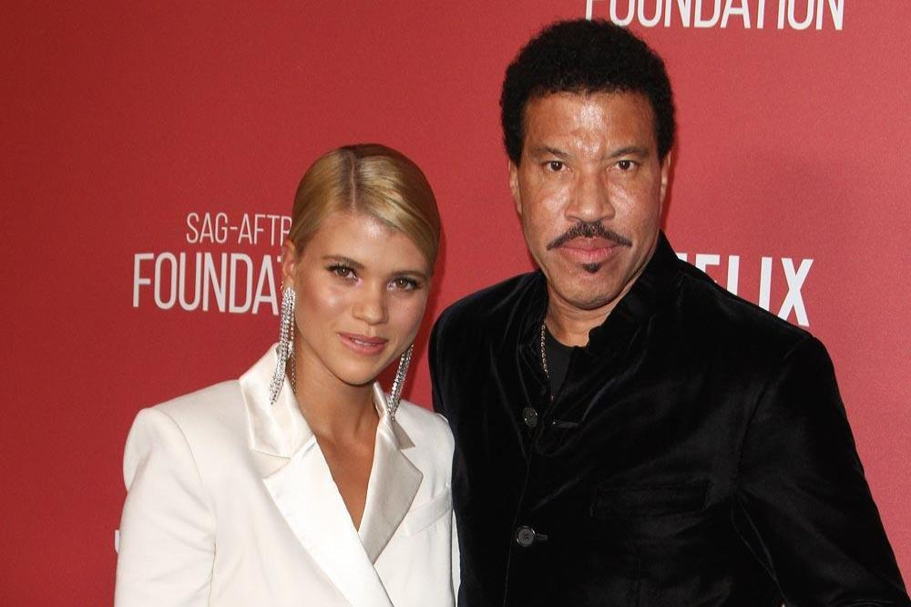 Sofia Richie and Lionel Richie
