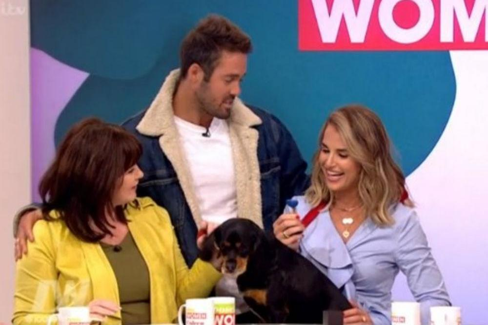 Spencer Matthews and Vogue Williams on Loose Women