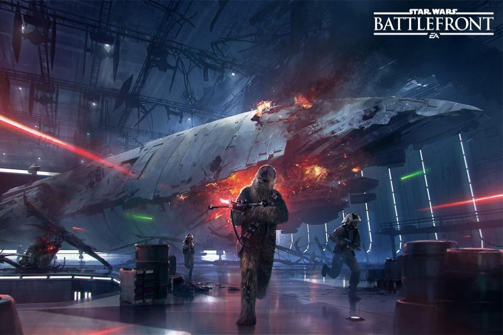 EA: Star Wars Battlefront II has 'improved' air combat