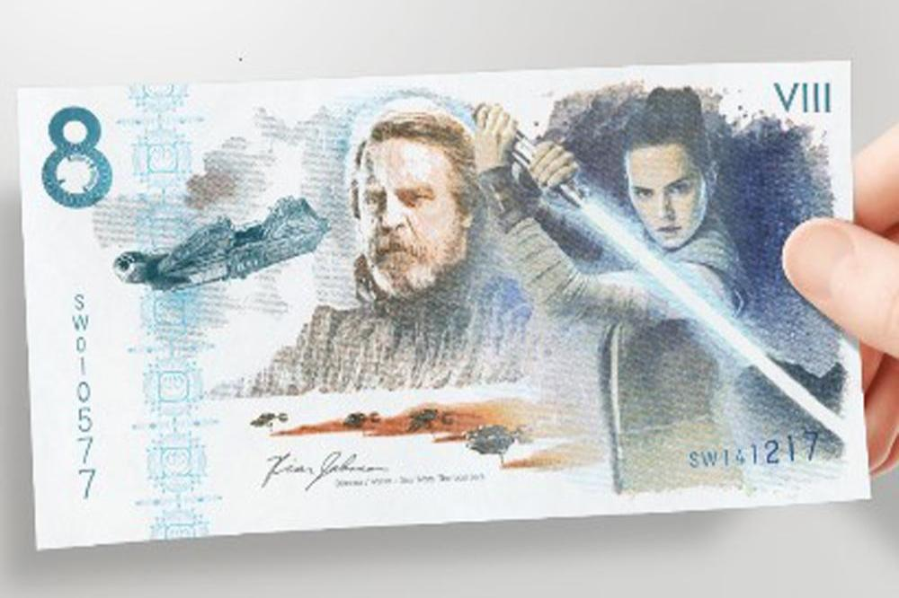 Star Wars commemorative note