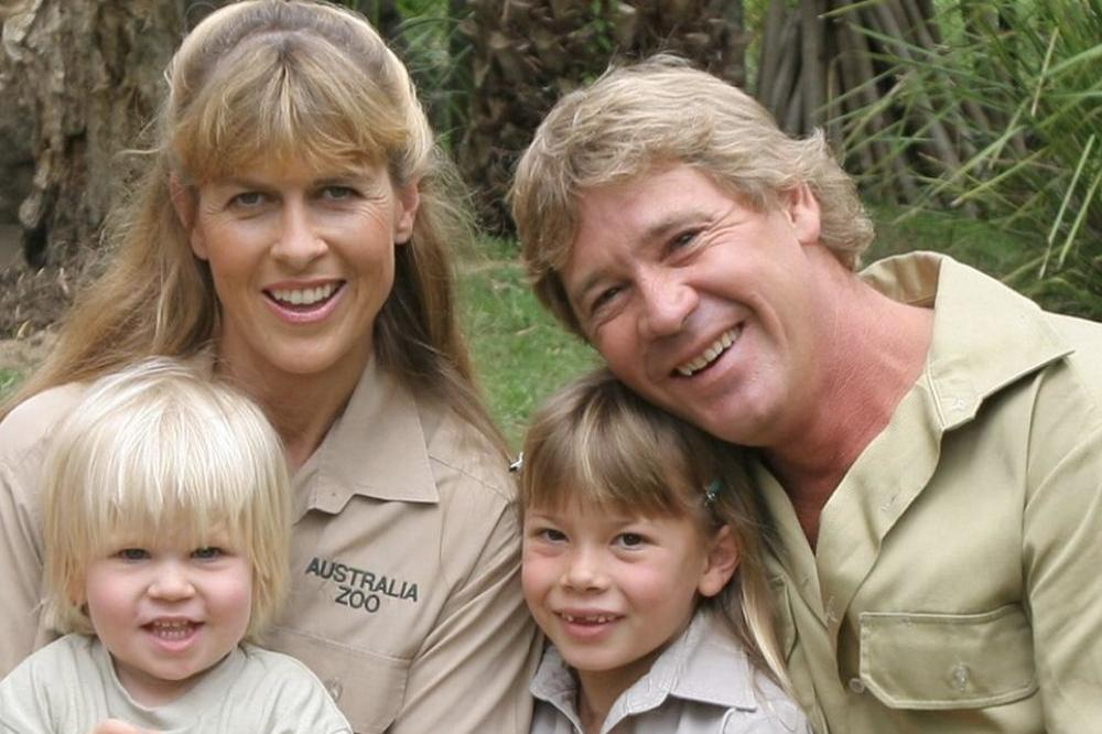 Steve Irwin and family (c) Bindi's Instagram
