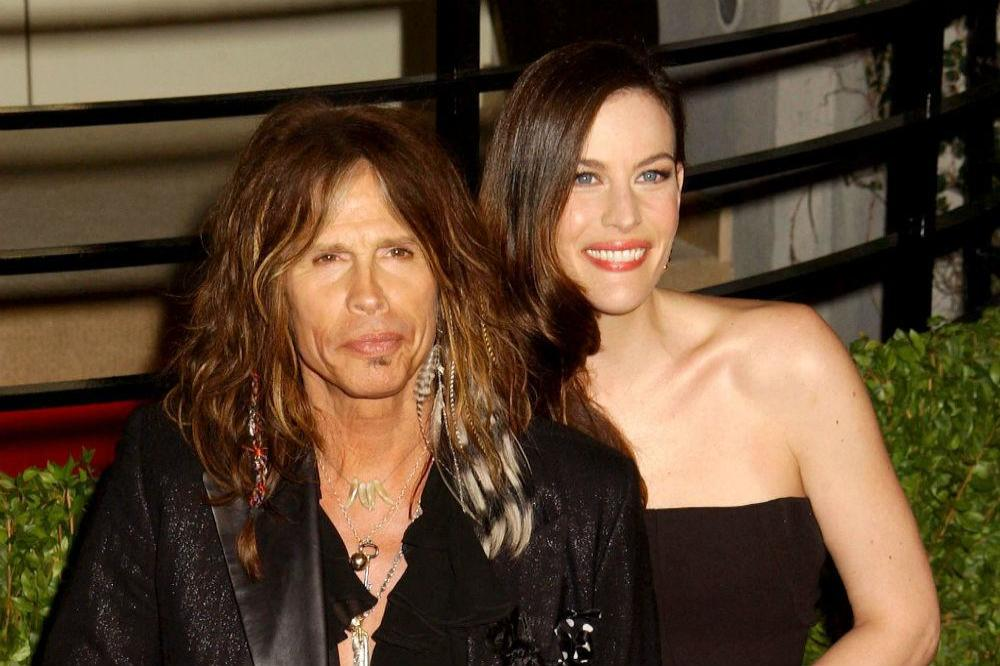Liv Tyler (r) and dad Steve (r)