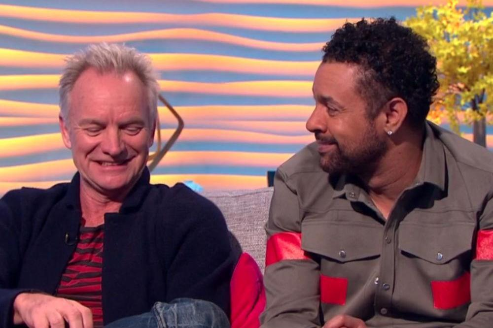 Sting and Shaggy on ITV