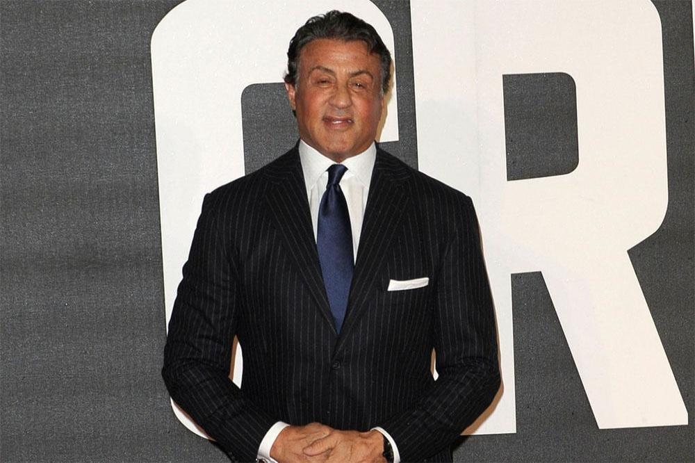 Sylvester Stallone at Creed European premiere