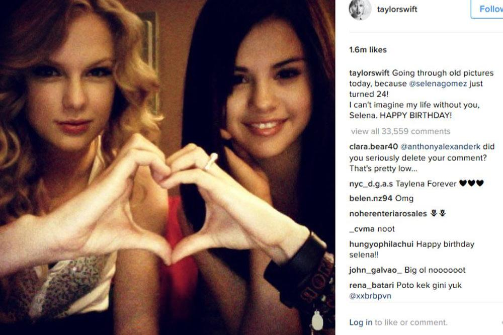 Taylor Swift Can T Imagine Life Without Selena Gomez