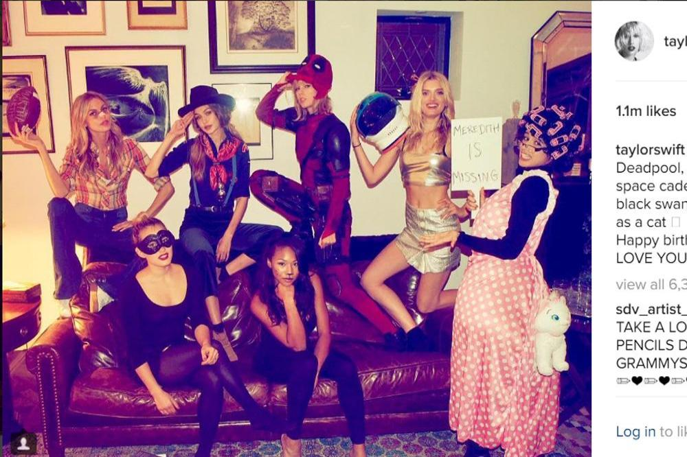 Gigi Hadid Ate Chips And Guacamole At Taylor Swift S Halloween Party