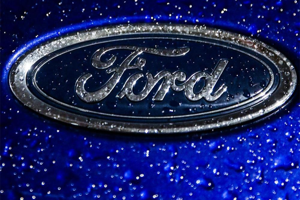 The Ford was found buried in the garden