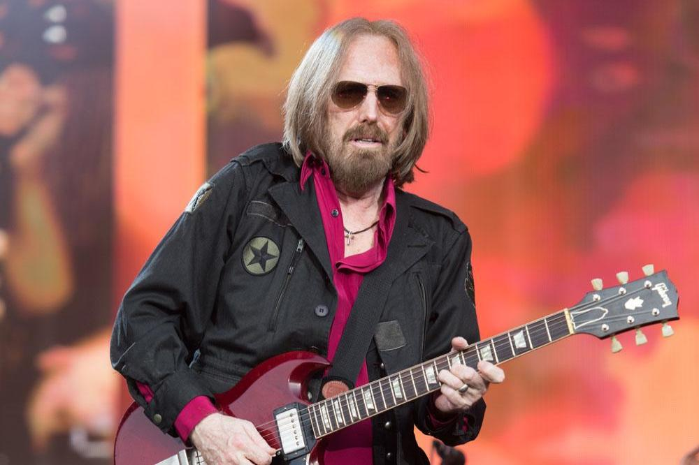 Tom Petty performs at British Summer Time Hyde Park