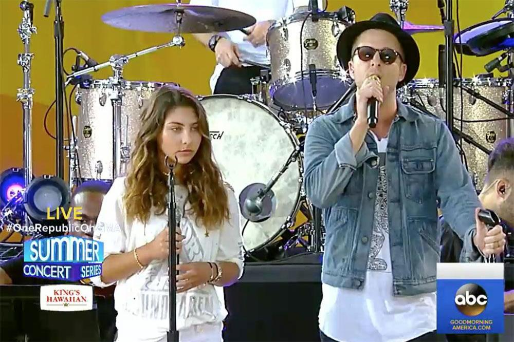 Toni Cornell and Ryan Tedder