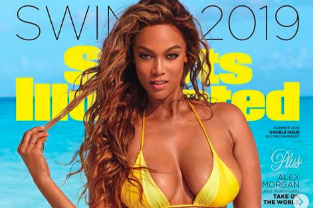 Tyra Banks 'paid homage' to 80s supermodels in Sports