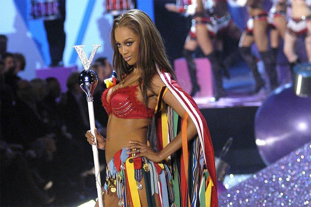 Tyra Banks earned her Victoria's Secret job