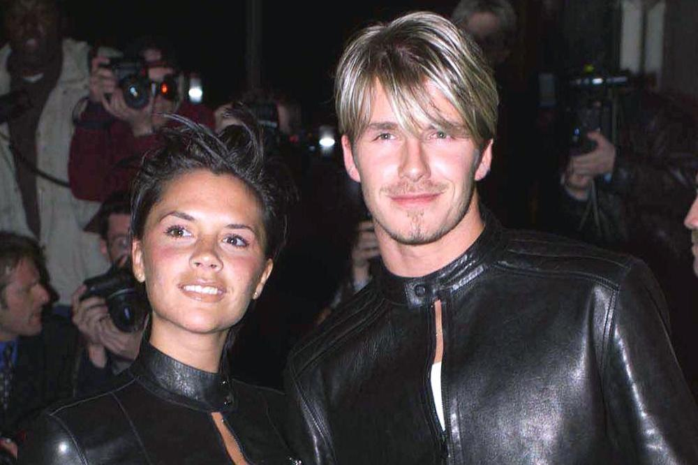 Victoria and David Beckham in throwback snap