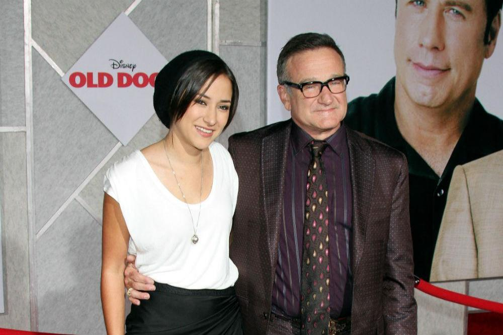 Zelda and Robin Williams in 2009