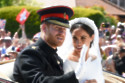 Duke and Duchess of Sussex on their wedding day