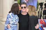 Simon Cowell with Alesha Dixon and Amanda Holden at the the BGT launch in London