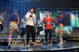 Ant and Dec performing Let's Get Ready to Rhumble on Saturday Night Takeaway