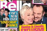 Denise Welch and Lincoln Townley in this week's Bella magazine
