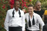 Jay-Z and Justin Timberlake