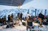 Kasabian performing at Snowbombing Festival