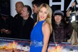 Lydia Bright at Olympus Has Fallen premiere