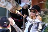 Nicole Richie with son Sparrow