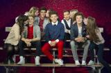 One Direction wax works with fans
