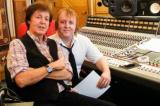 Sir Paul and James McCartney