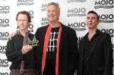 Ray Manzarek (c) with Mark Almond (r) and Robby Krieger (l)