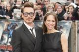 Robert Downey Jr. at Iron Man 3 premiere