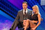 Simon Cowell enjoy a lap dance on Britain's Got Talent