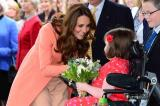 The Duchess of Cambridge at Naomi House hospice