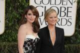 Amy Poehler and Tina Fey at the Golden Globes in January