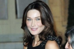 Carla Bruni is a mother for the second time