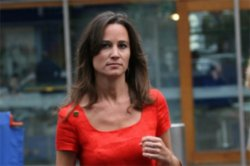 Pippa Middleton out about Town
