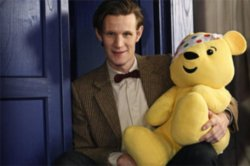 Matt Smith on Dr Who Film