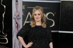 Adele Befriends Jennifer Lawrence