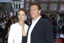 Arnold Schwarzenegger and Maria Shriver in happier times