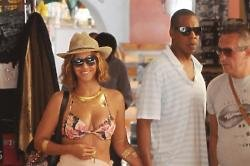 Beyonce and Jay Z in Portofino, Italy