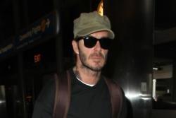David Beckham smashes his tooth on ski trip