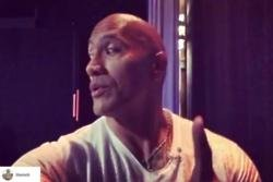 Dwayne Johnson gets 'butterflies and goosebumps' ahead of TV appearances