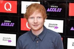 Ed Sheeran at Q Awards