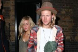 Dougie Poynter and Ellie Goulding reconcile at GQ Awards