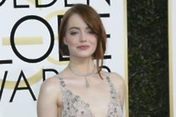 Emma Stone 'burst into tears' when she had her hand print cemented