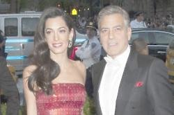 George & Amal Clooney Celebrating First Wedding Anniversary With A 'Quiet Romantic Meal'