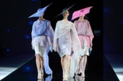 Giorgio Armani at Milan Fashion Week