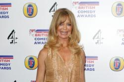 Goldie Hawn Greeted By Happy Fans In London