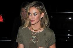 Hilary Duff admits separation is very difficult